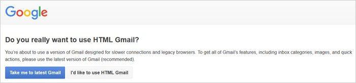 Gmail tricks and hacks - basic mode