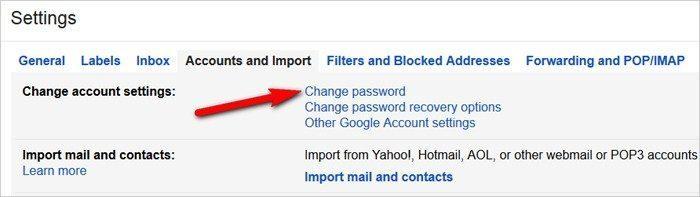 Gmail tricks and hacks - change password regularly