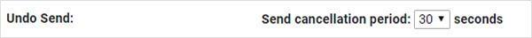 The Undo Send Option in Gmail