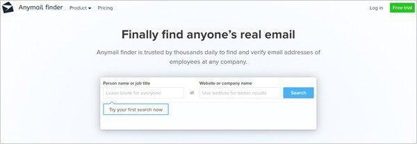 """2. Search """"@domainname.com"""" in DuckDuckGo"""