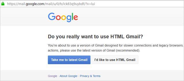 HTML Gmail