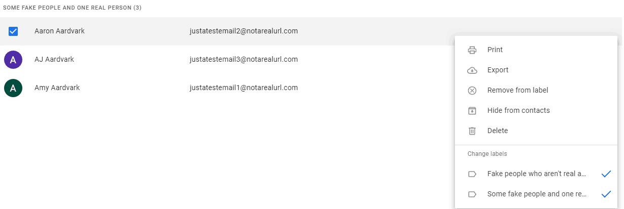 edit gmail groups