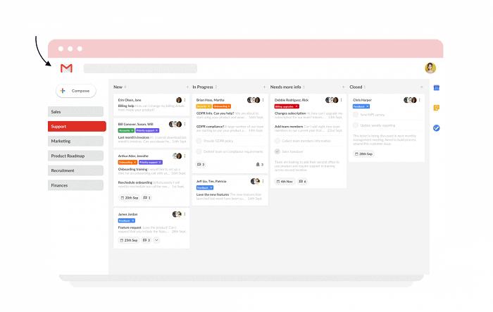 dragapp - helpdesk apps for gmail