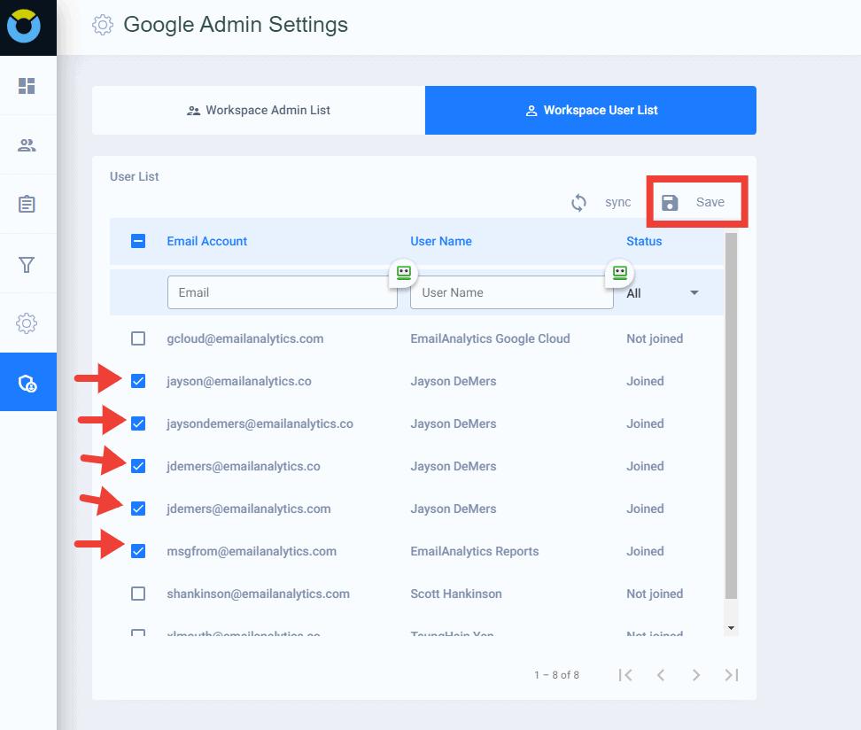 google workspace admin
